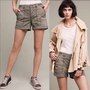 "Anthropologie Hei Hei ""The Wanderer"" shorts NWT 25"